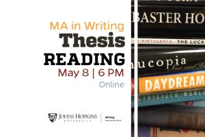 MA in Writing: Thesis Reading