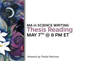 MA in Science Writing: Thesis Reading